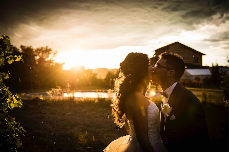 Paolo Mantovan Fotografo Matrimonio Orbassano Liguria Montagna Mare Piemonte Torino Cinque Sposi Terre Giula e Marco-130 Sposi Bacio Wedding Sole Tramonto