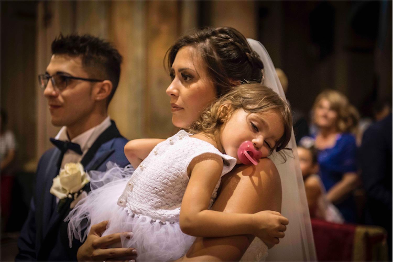 Paolo Mantovan Fotografo Matrimonio Orbassano Liguria Montagna Mare Piemonte Torino Cinque Sposi Terre Giula e Marco-99 Bimba Sposa Wedding Sonno