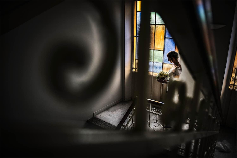 Paolo Mantovan Fotografo Matrimonio Orbassano Liguria Montagna Mare Piemonte Torino Cinque Sposi Terre Giorgia e Davide-41 Uscita sposa